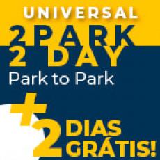 UNIVERSAL 2 Parques, 2 Dias Park to Park + 2 dias GRÁTIS